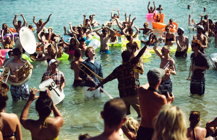 A beach party to rival them all - Soundwave, Croatia © Dan Medhurst