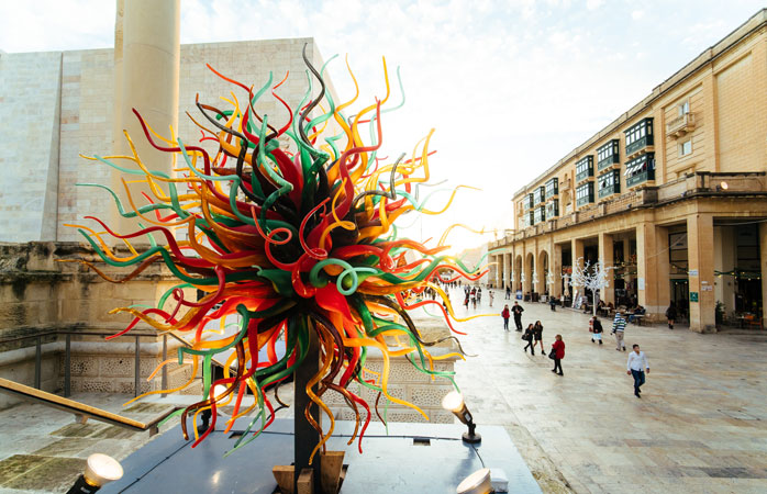 The capital of Malta, Valletta, presents a wide range of cultural activities throughout the year