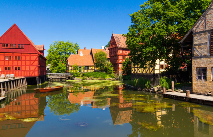 A walk through Danish history in Den Gamle By