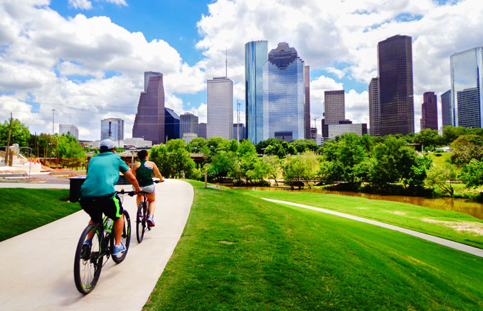 Go on now ... explore Houston!