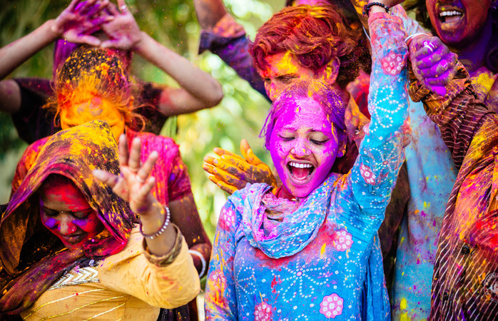 "Holi, or the ""festival of colours"", is an unforgettable experience"