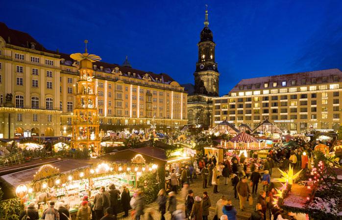 Dresden's Striezelmarkt is Germany's oldest Christmas market