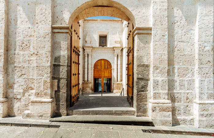 The Cathedral of Arequipa