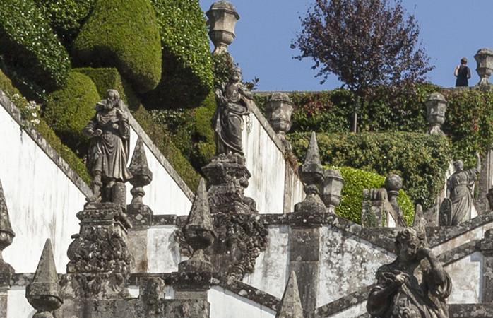Braga, hilly and stunningly beautiful