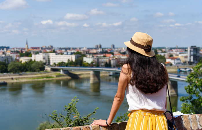 City view of Novi Sad