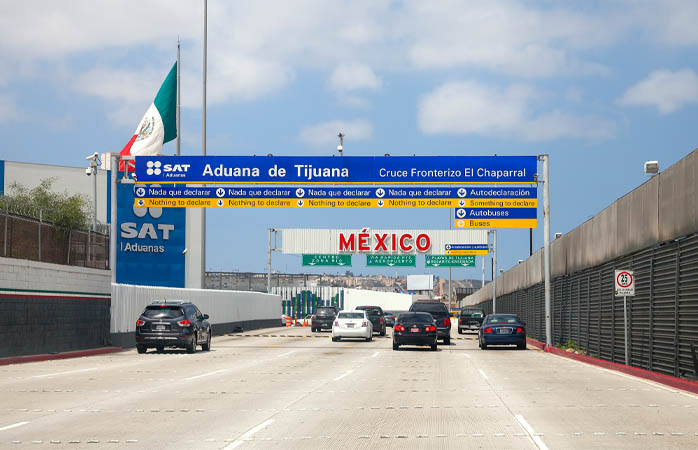 Crossing a border? Make sure you're won't get a fine
