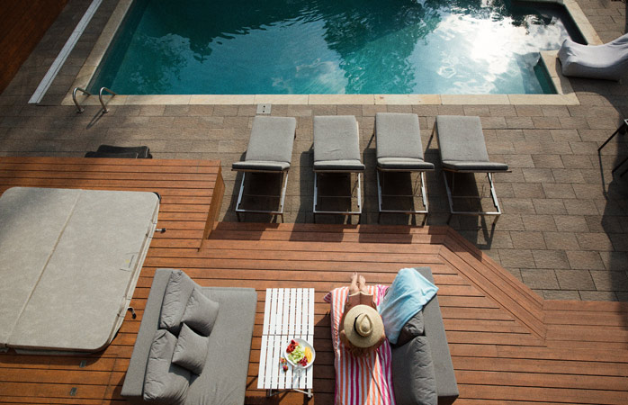 Sure the heated, outdoor pool is great, but will you actually use it?
