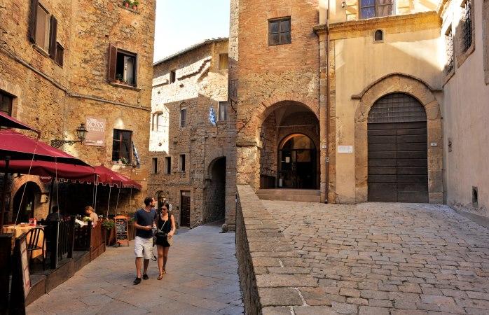 Fancy a romantic stroll in Volterra?