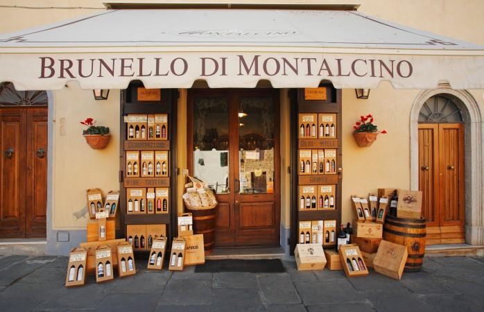 Montalcino is home to one of the best Italian wines: Brunello di Montalcino