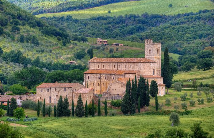 Curious about Gregorian chanting? Head for Abbazia di Sant'Antimo