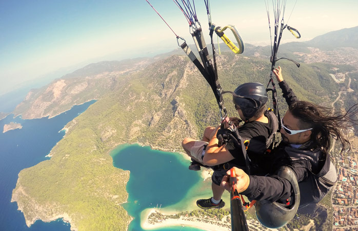 Travel insurance is worth thinking about...just in case you decide to do any extreme sports during your holiday