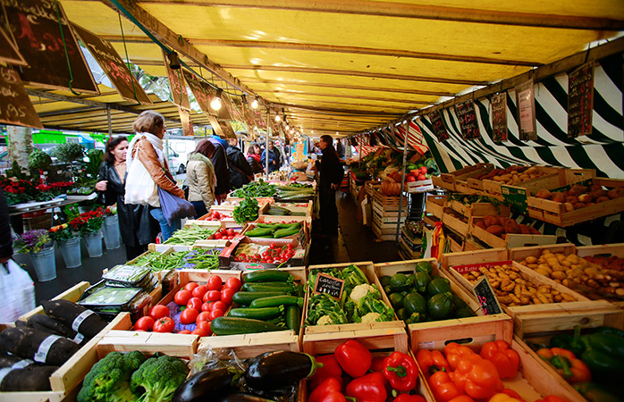 Get a bargain at Le Marche de Belleville food market in Paris