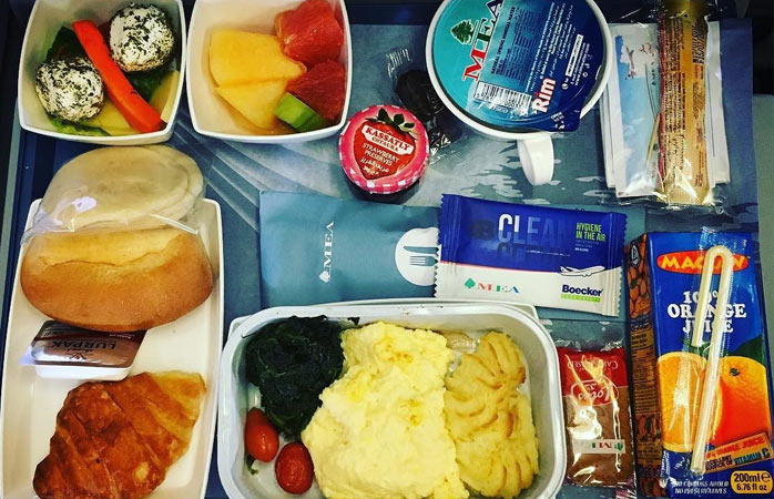 Who said you had to go hungry on your long-haul flight? © alecco69