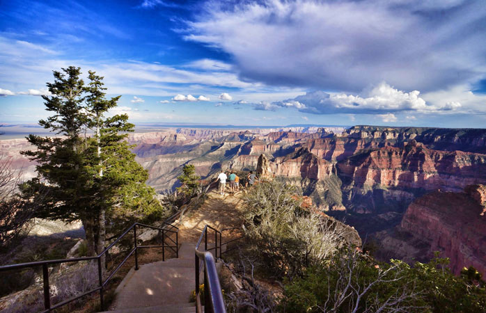 Nothing grander than the Grand Canyon - check out the North Rim before its winter closure