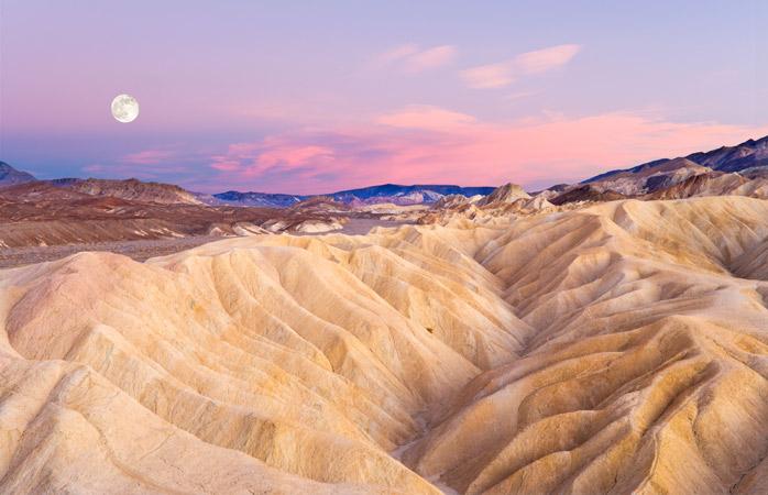 Mars – or Zabriskie Point in Death Valley?