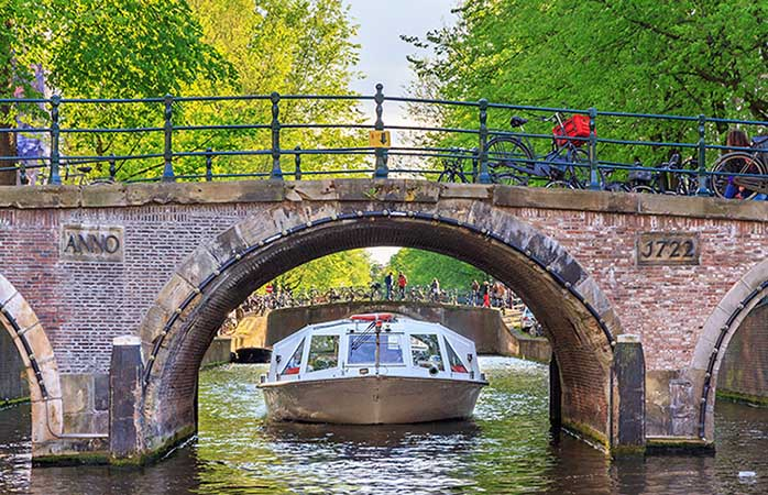 Rent your own or take advantage of hop-on, hop-off boat cruises