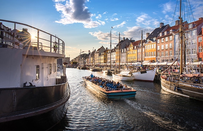 Copenhagen is very walkable -- but why not give your feet a rest and see the city by boat?