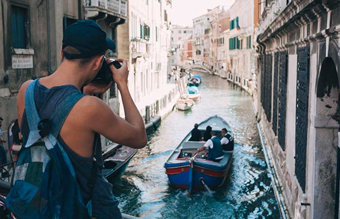 You're never too far from a water view in Venice