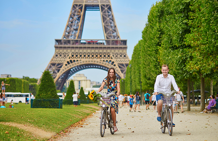 Gaze up at the Eiffel Tower in wonder at least once in your lifetime