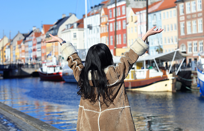 Copenhagen is a very walkable city, but stay near Nyhavn for added convenience