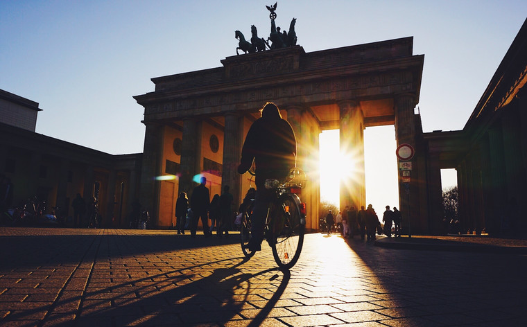 Start off your day exploring Berlin with a stop at the Brandenburg Gate