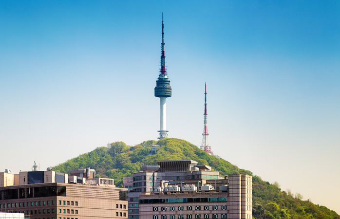 If you're after some amazing views of the city, go to the N Seoul Tower and take it all in