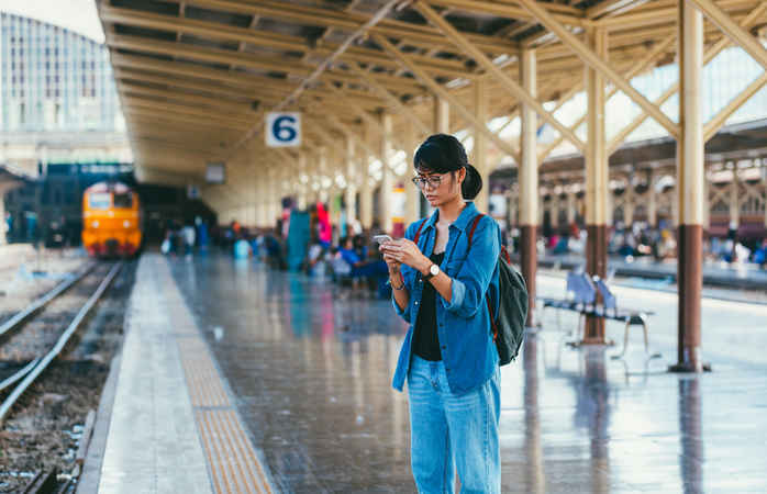 A Eurail Pass gives travel freedom