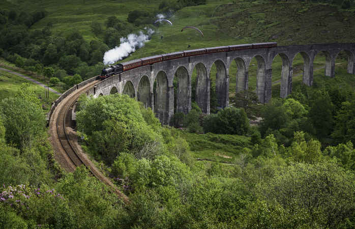 The train will take you to tiny European villages, metropolises and everywhere in between