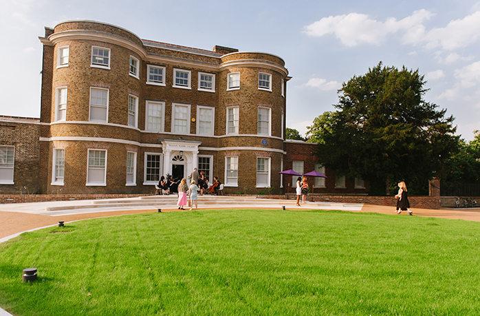 The gallery exterior of William Morris Gallery