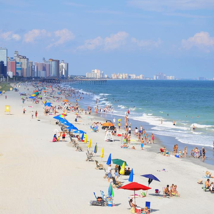 Find Flights From Dallas To Myrtle Beach Starting At 196